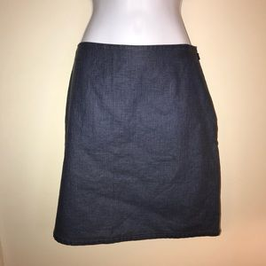 Tommy Hilfiger Jeans Linen and Cotton Skirt